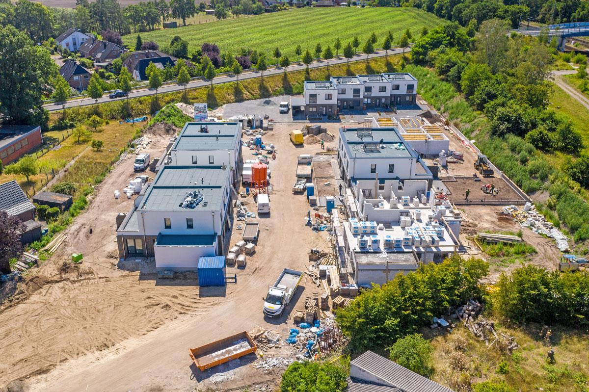 Alte Gärtnerei Weyhe-Lahausen Baustelle