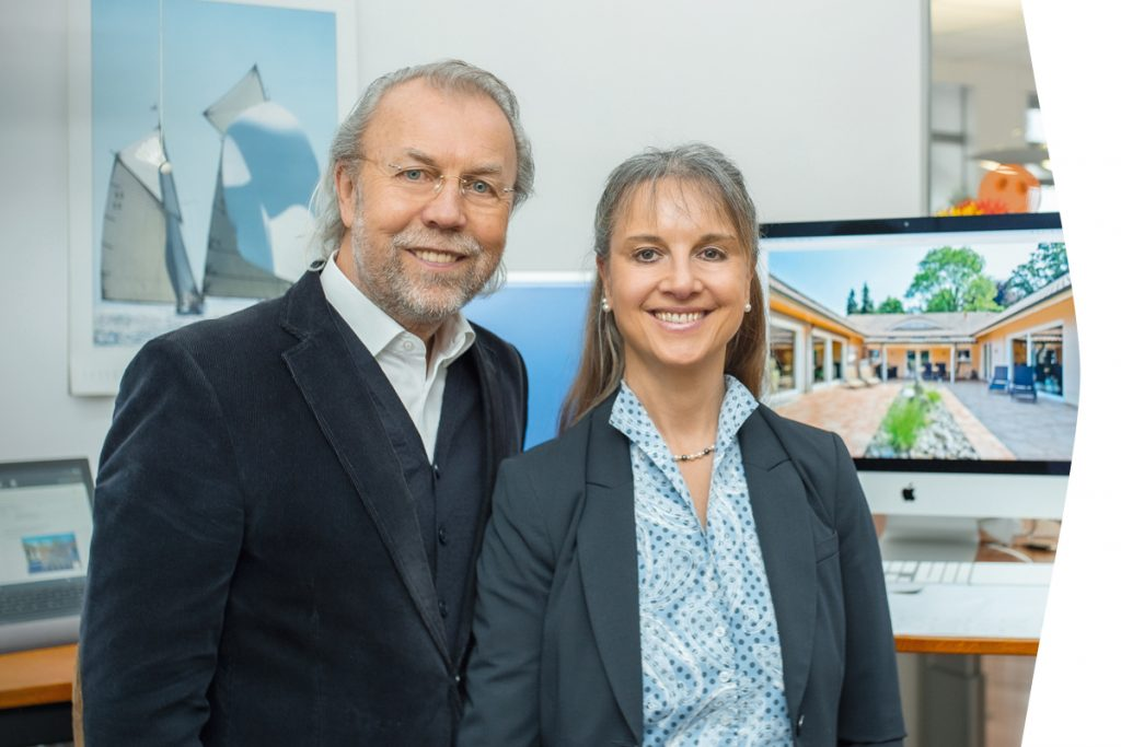 Ulrice und Michael Czehowsky, Geschäftsführer EXPOSÉ Immobilien