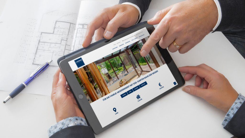 EXPOSE Immobilien Tablet 2020